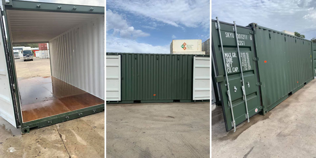 Double Door container sales and hire